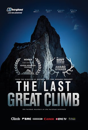 The Last Great Climb - Climbing Film Poster