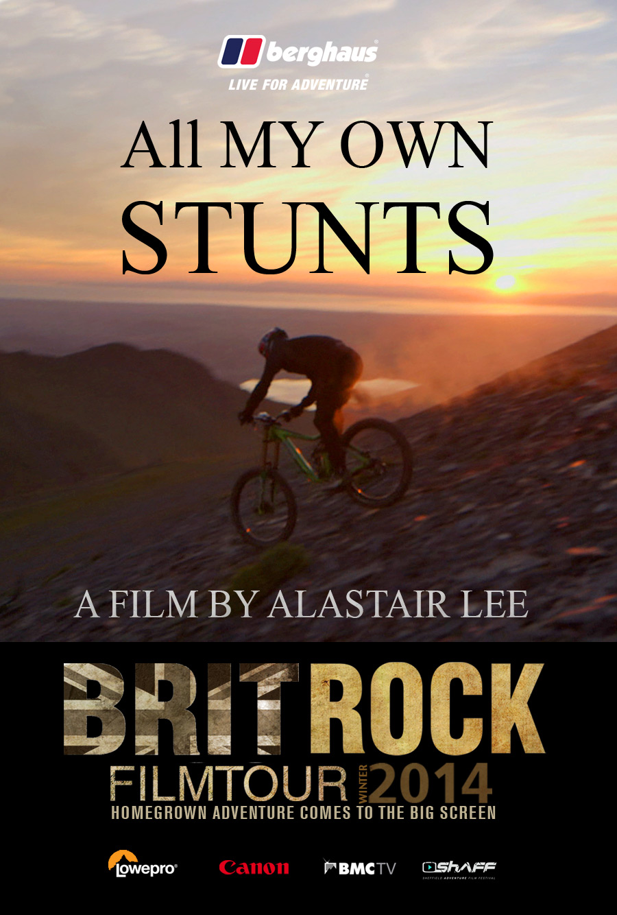 Brit Rock Film Tour Poster