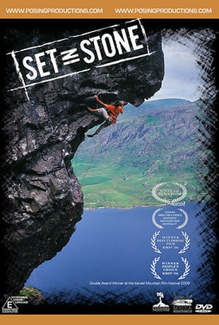 Set In Stone - Climbing Film Poster